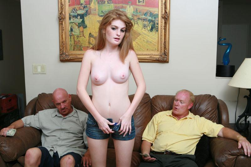 Faye Reagan And Old Man